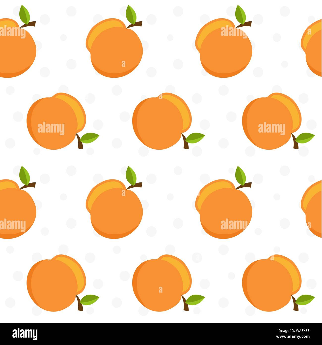 vector seamless pattern with peach fresh fruit background stock vector image art alamy https www alamy com vector seamless pattern with peach fresh fruit background image264498315 html