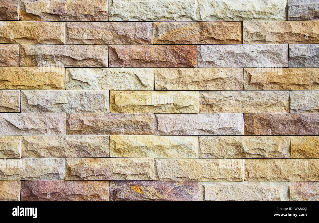Natural stone granite pieces tiles for walls Stock Photo - Alamy
