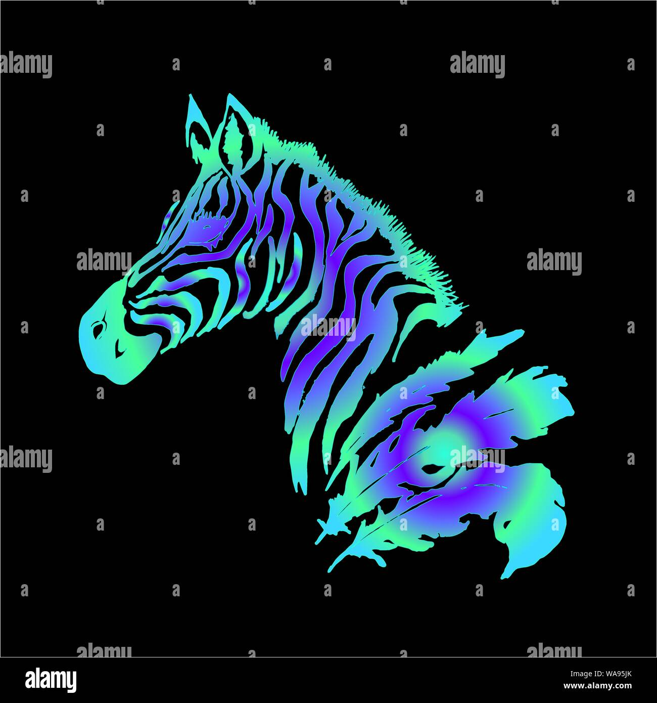 Page 3 American Indian Horse Drawing High Resolution Stock Photography And Images Alamy