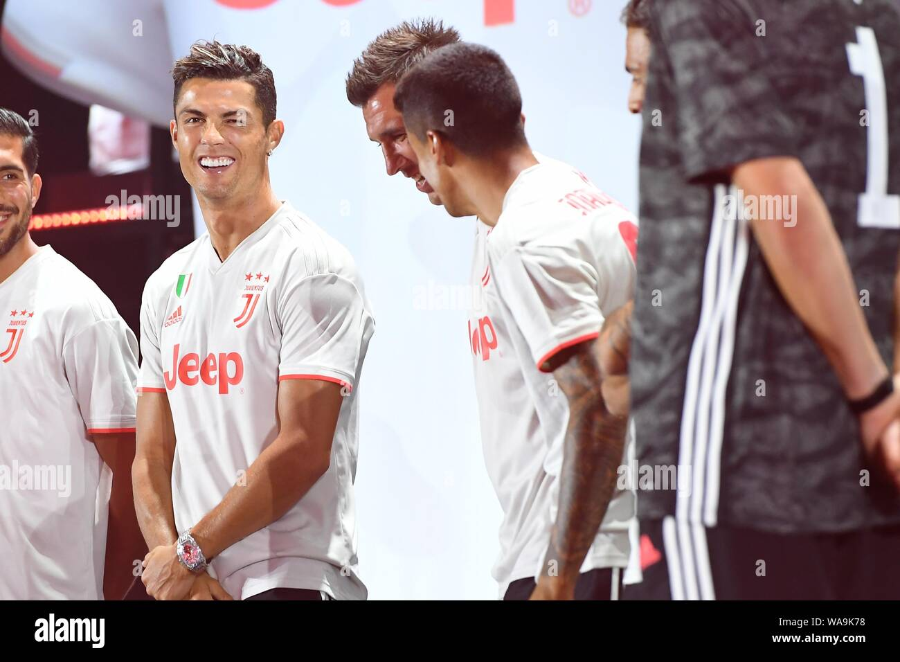 huge selection of 8a87d 621bc Portuguese football player Cristiano Ronaldo of Juventus ...
