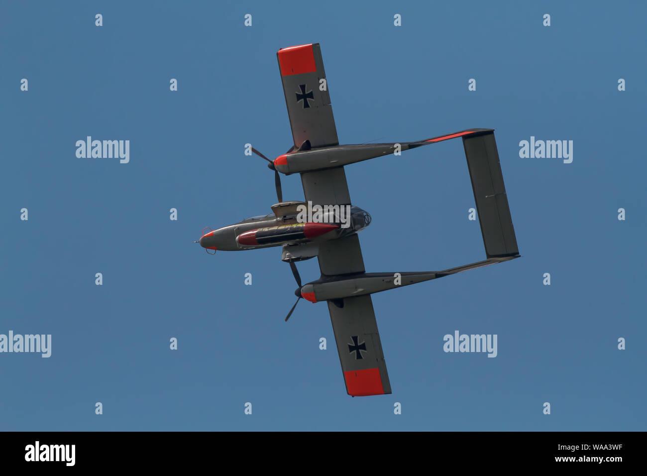 Biggin Hill Festival Of Flight >> North American Rockwell Ov 10 Bronco Displays As The Biggin