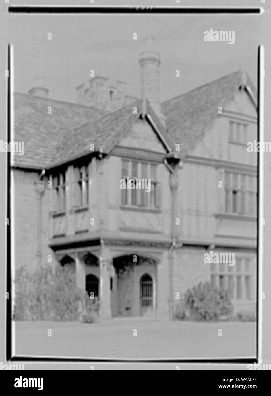 Clarence McK. Lewis, Skylands Farm, residence in Sterlington, New York. Stock Photo