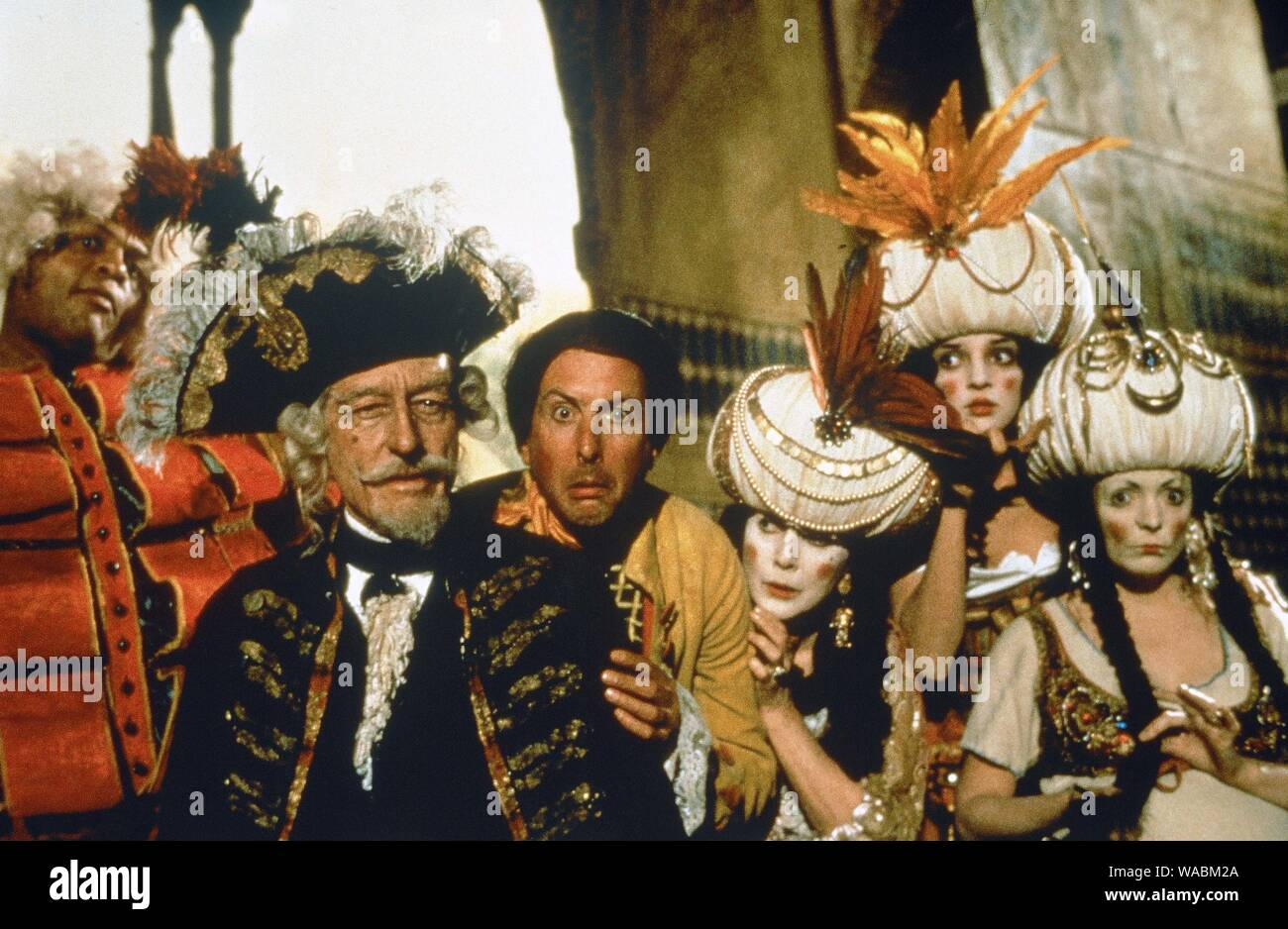 """Studio Publicity Still from """"The Adventures of Baron Munchausen"""" John Neville, Eric Idle, © 1988 Columbia File Reference # 33848-523THA Stock Photo"""