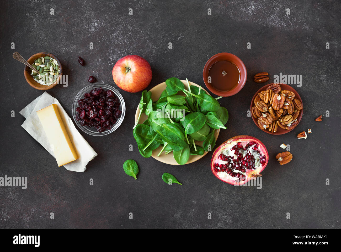 Healthy Autumnal Salad Ingredients For Cooking Healthy