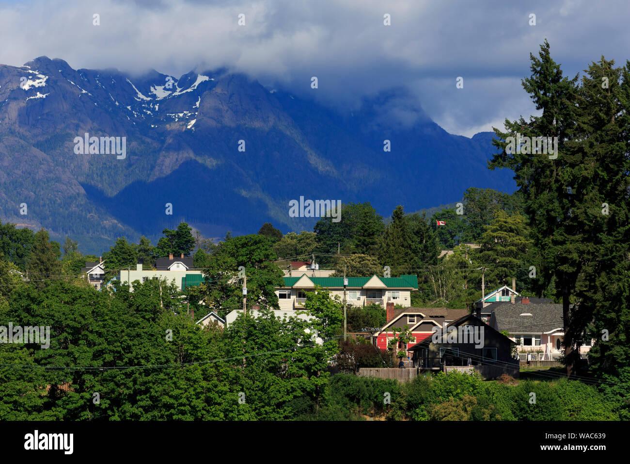 Vancouver Mountains Ocean Stock Photos & Vancouver Mountains