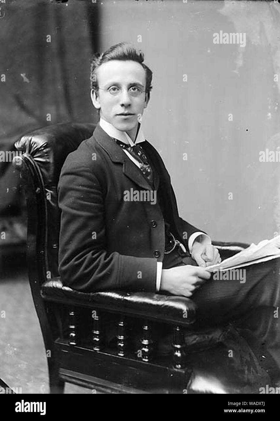 Dr William Thelwall Thomas, FRCS (1865-1927) Stock Photo