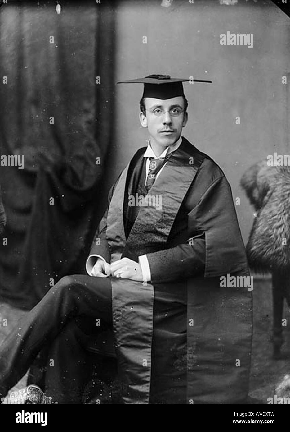 Dr William Thelwall Thomas FRCS (1865-1927) Stock Photo