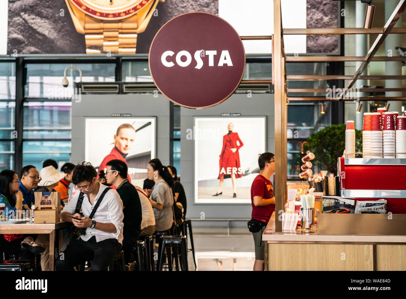 Costa Coffee Shop Sign In Stock Photos Costa Coffee Shop