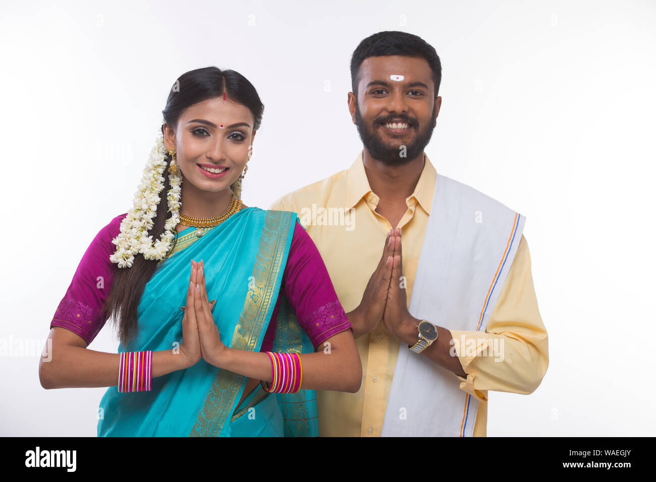Tamil Couple High Resolution Stock Photography And Images Alamy