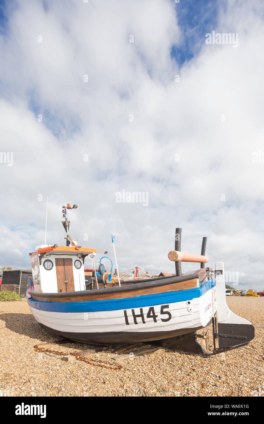 The seaside town of Aldeburgh on the East Suffolk coast, England, UK Stock Photo