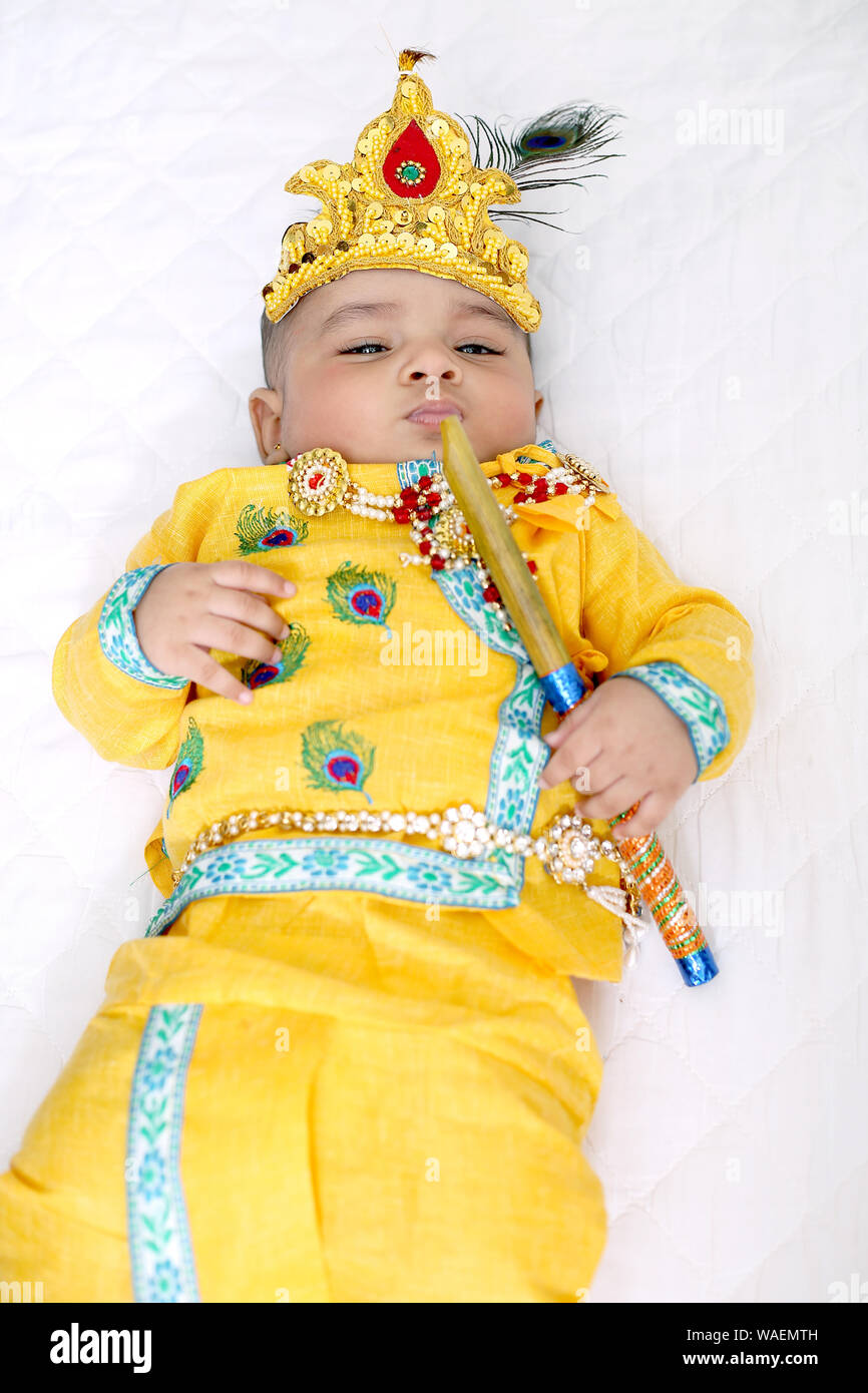 Lord Krishna Stock Photos & Lord Krishna Stock Images - Alamy