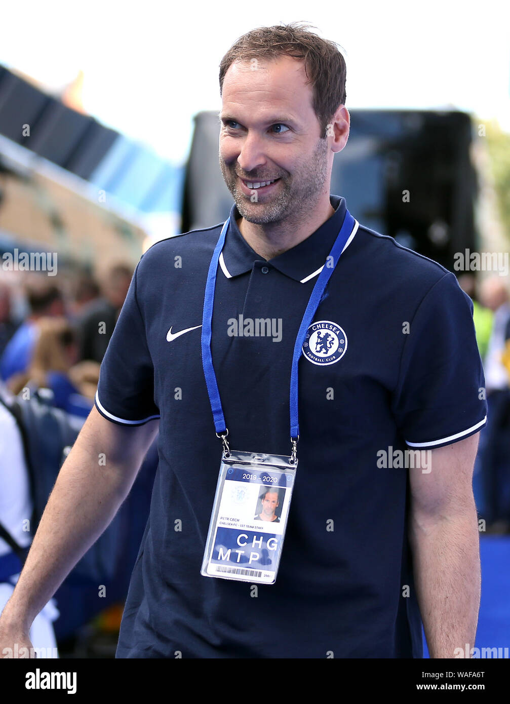 Chelsea Technical And Performance Advisor Petr Cech Arrives At The Ground Stock Photo Alamy
