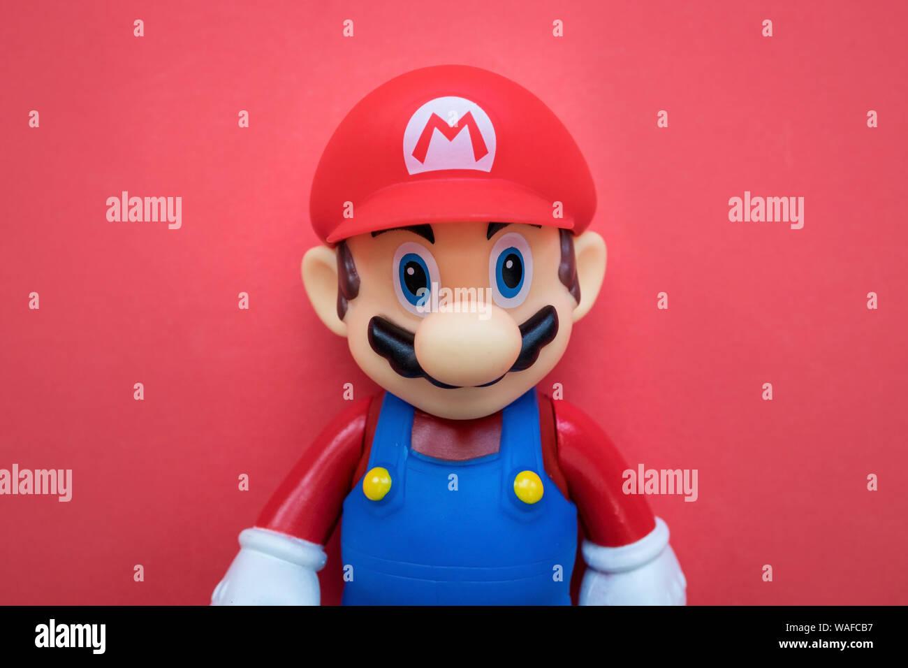 London July 31 2019 Super Mario Nintendo Video Game