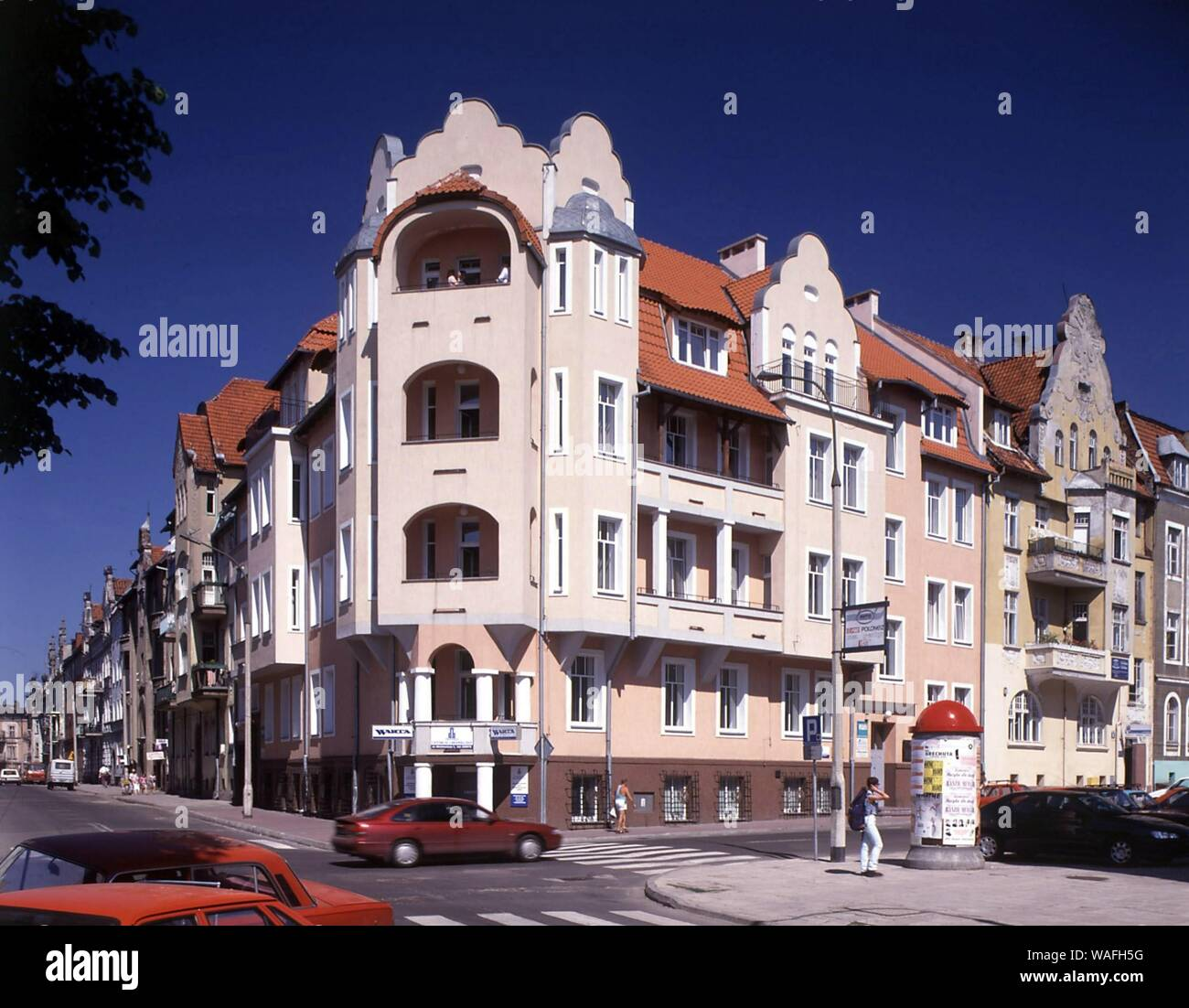 Olsztyn, biggest town of the Warmian-Masurian Province, North-Eastern Poland. contemporary architecture near the old town phot. Jan Morek/FORUM Stock Photo