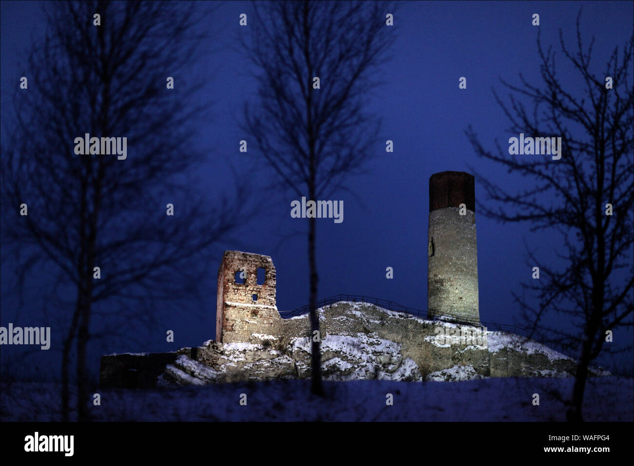 Olsztyn, biggest town of the Warmian-Masurian Province, North-Eastern Poland. Olsztyn castle ruins 2008 phot. Daniel Pach/FORUM Stock Photo