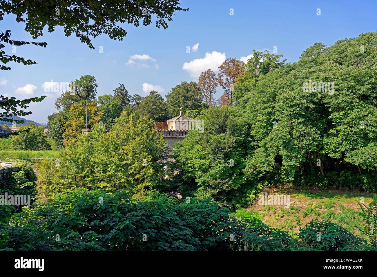 Schloss, Castello del Catajo, Park, Battaglia Terme Italien (Italia), 30076928 Stock Photo