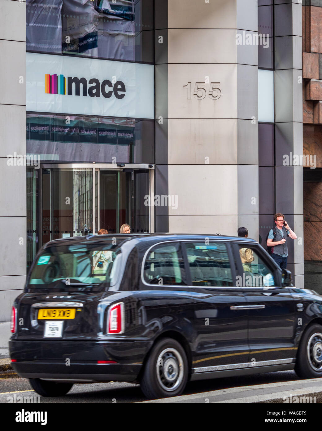 Mace Group HQ Head Office in Moorgate in the City of London