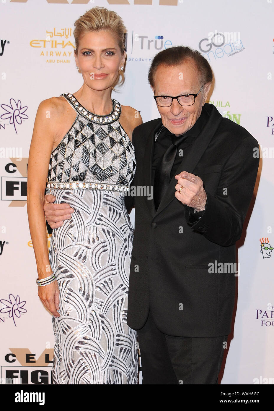 File Photo Larry King Files For Divorce From Wife Shawn King Phoenix Az April 9