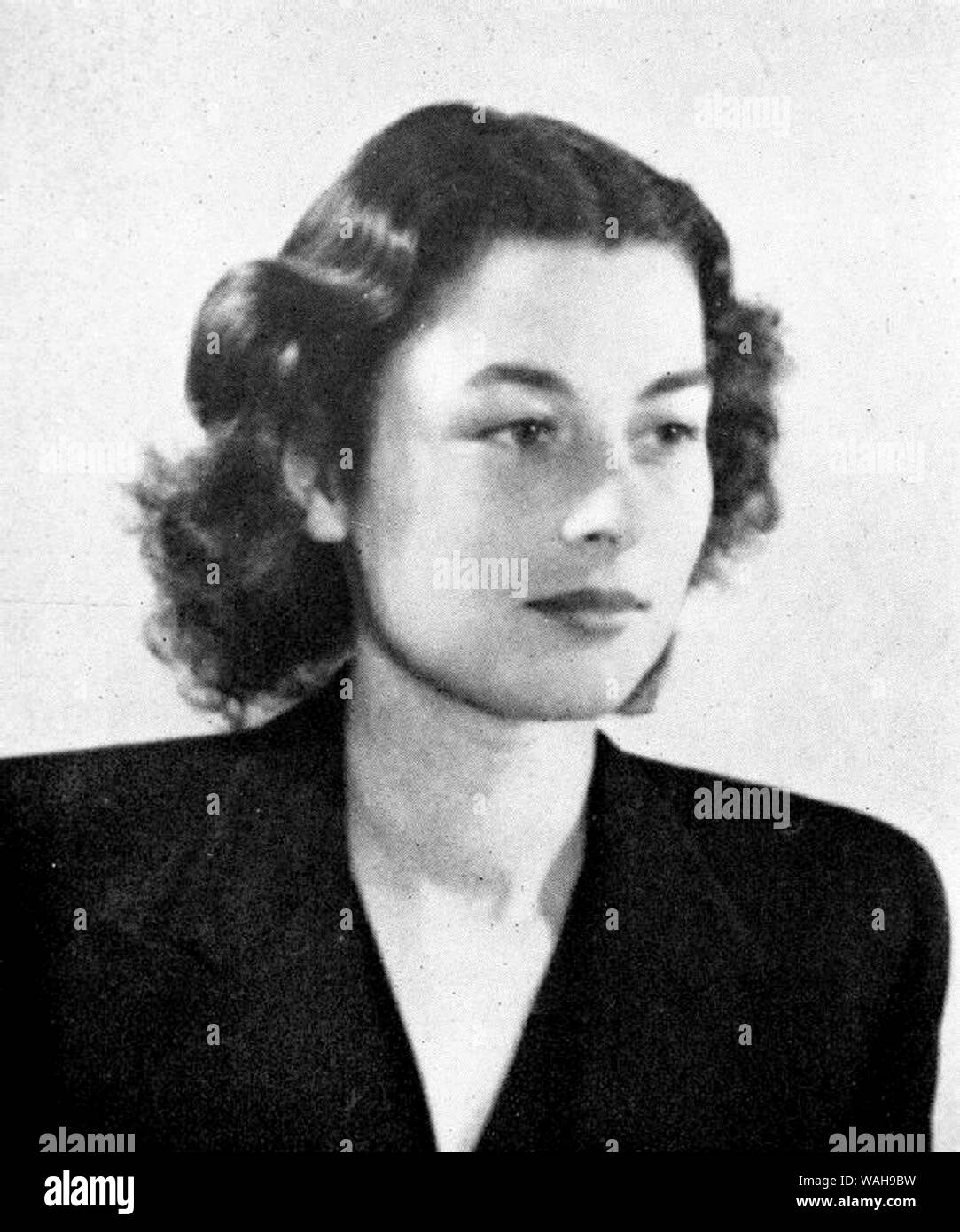 Violette Reine Elizabeth Szabo GC (1921 – 1945) French/British Special Operations Executive (SOE) agent during the Second World War and a posthumous recipient of the George Cross Stock Photo