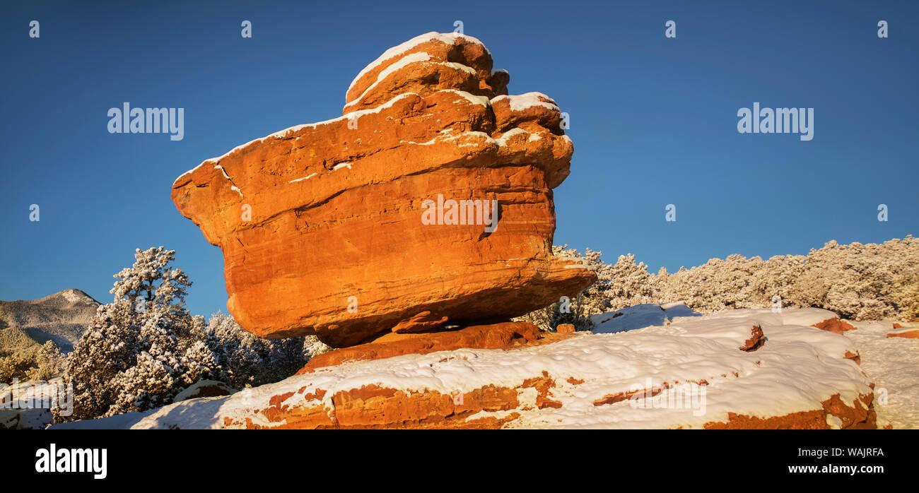 Usa Colorado Colorado Springs Garden Of The Gods