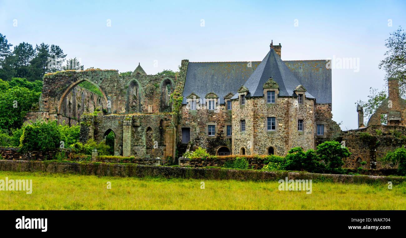 Architecte Cotes D Armor paimpol, the abbey of beauport, cotes-d'armor department