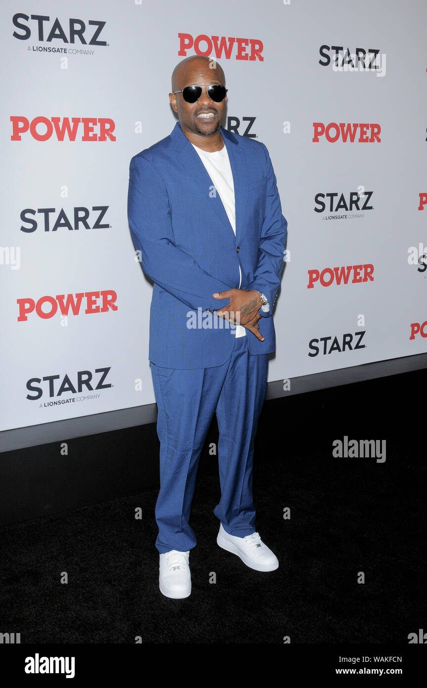 Case attends the Power Final Season Premiere held at Madison Square Garden in New York City. Stock Photo