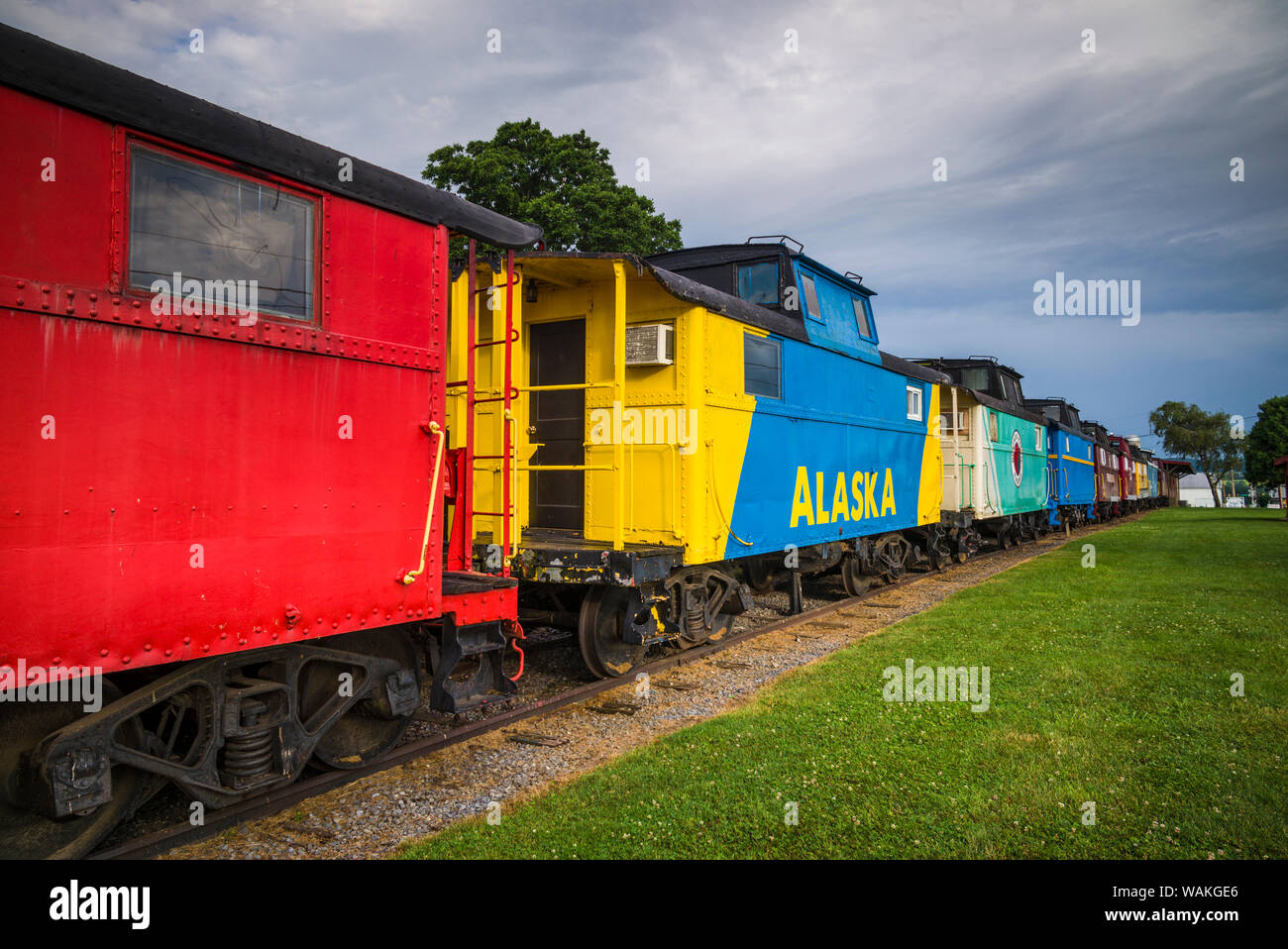 Caboose Stock Photos & Caboose Stock Images - Page 3 - Alamy