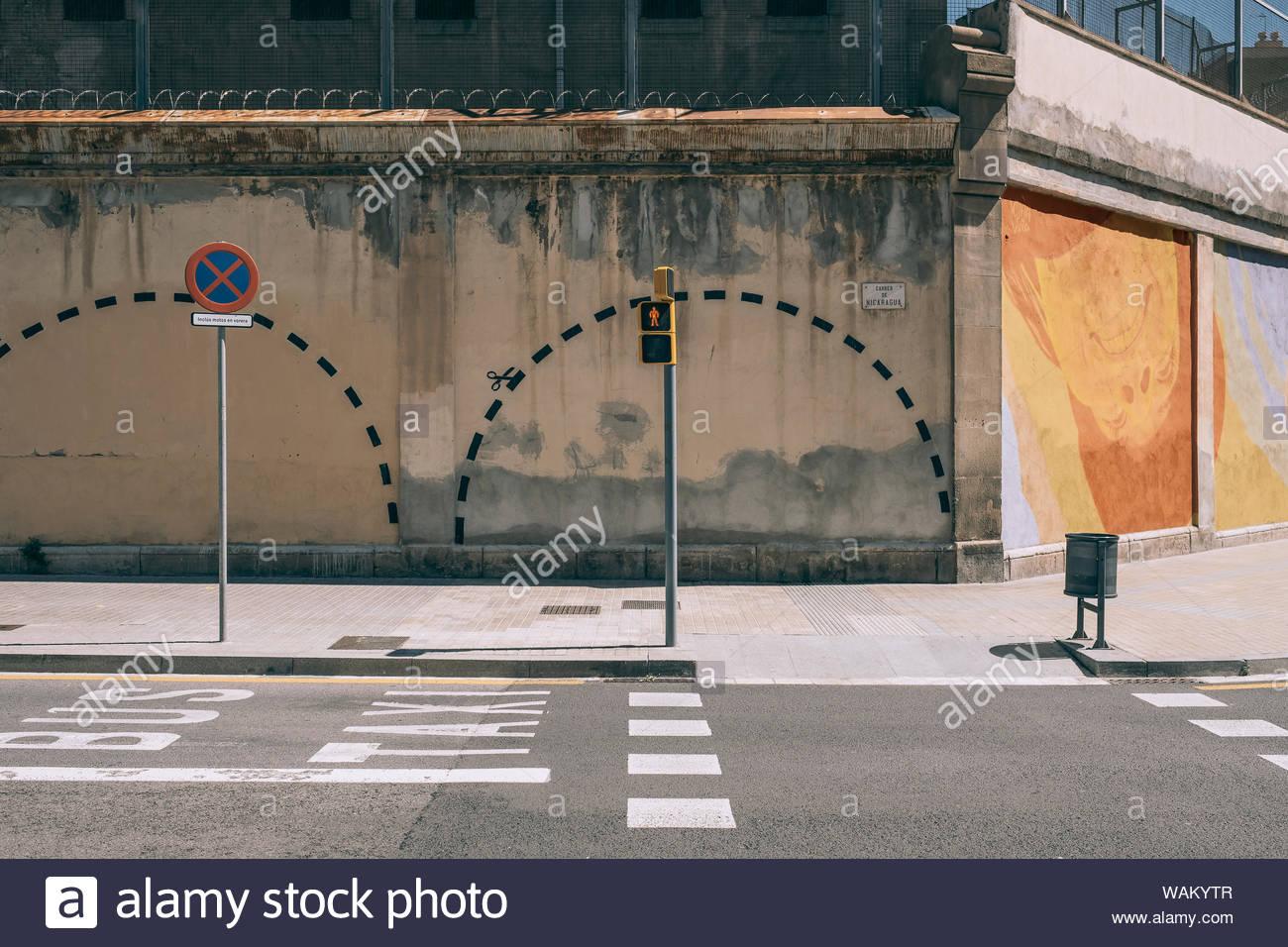 Modelo prison, Barcelona, Spain Stock Photo