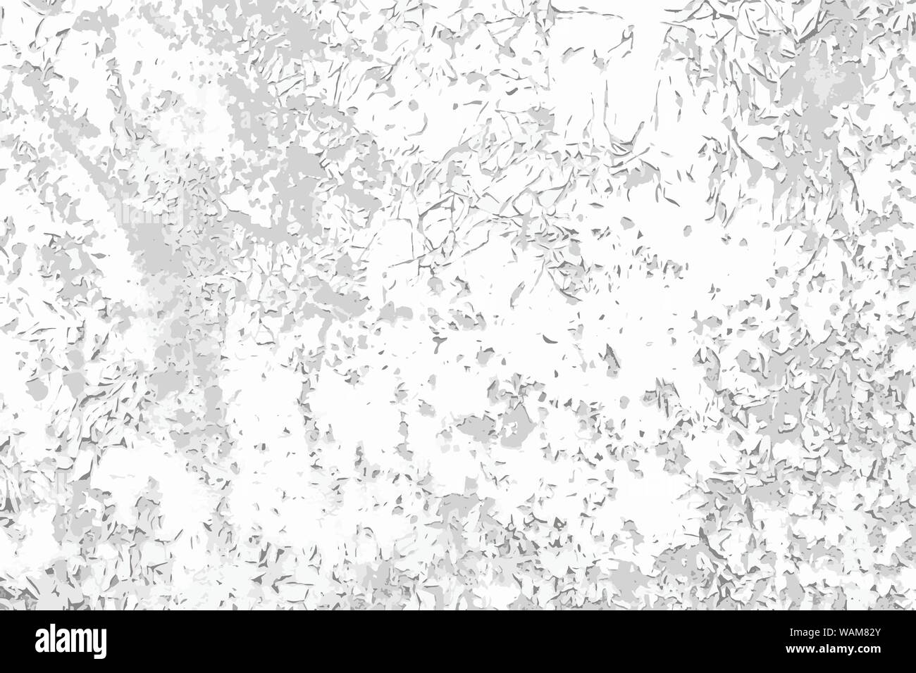 Scratch Cracked Paint Vector Black And White Background