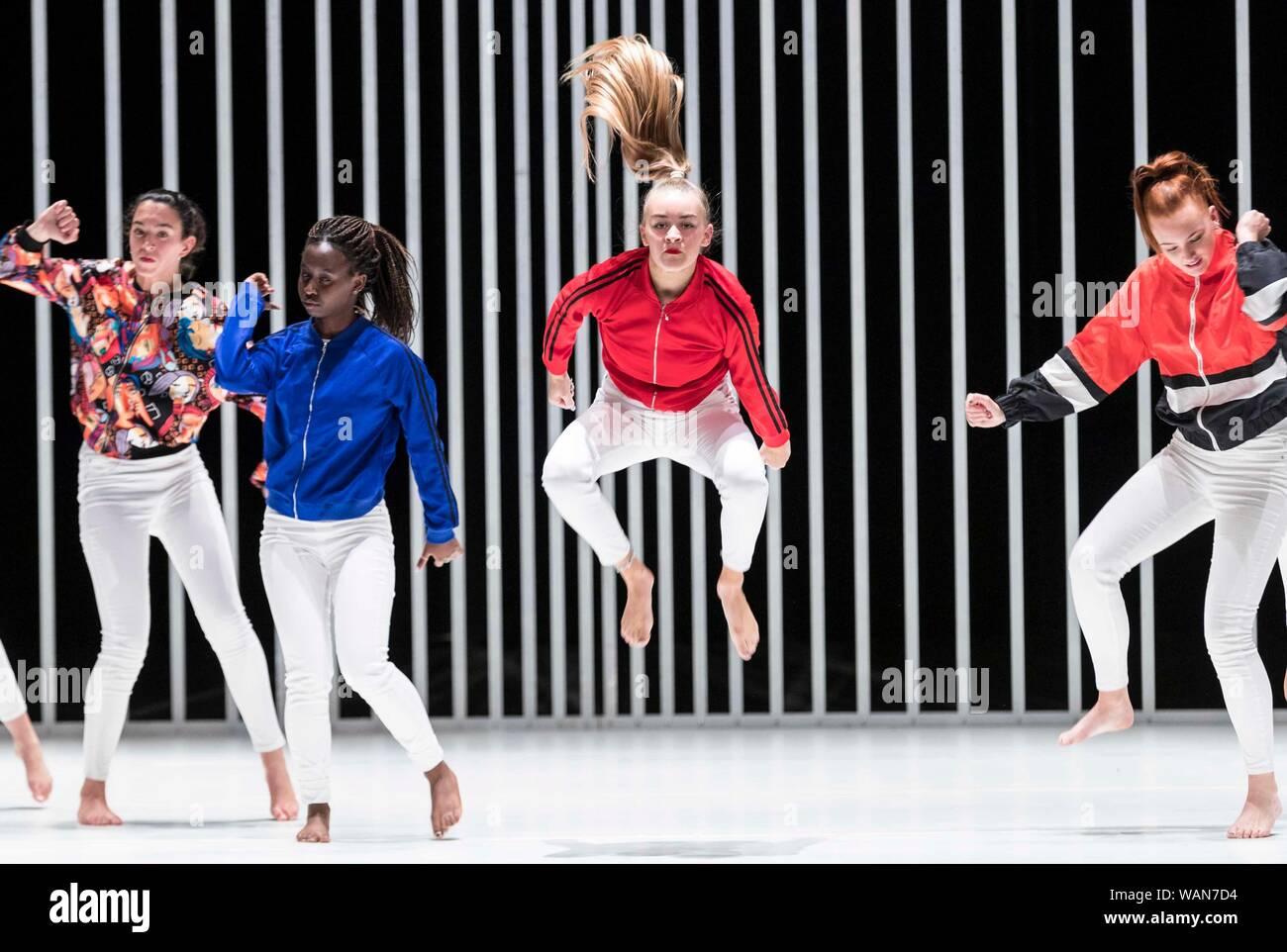 Edinburgh, Scotland, UK  21st Aug, 2019  A dance piece which