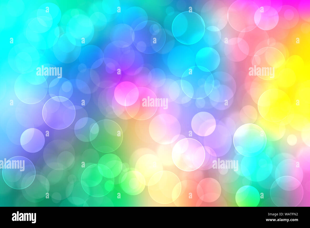 Rainbow Background Abstract Fresh Delicate Pastel Vivid Colorful Fantasy Rainbow Background Texture With Defocused Bokeh Lights Beautiful Light Text Stock Photo Alamy