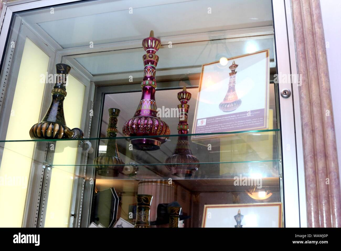 Los Angeles Ca 21st Aug 2019 Genie Bottle From I Dream Of Jeannie At Arrivals For Barbara Eden Tribute Exhibition Opening Night Reception The Hollywood Museum Los Angeles Ca August 21 2019