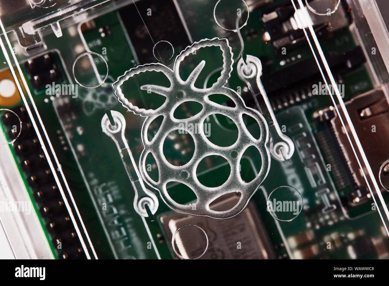 Raspberry Pi 3 B+ Stock Photo: 264870824 - Alamy
