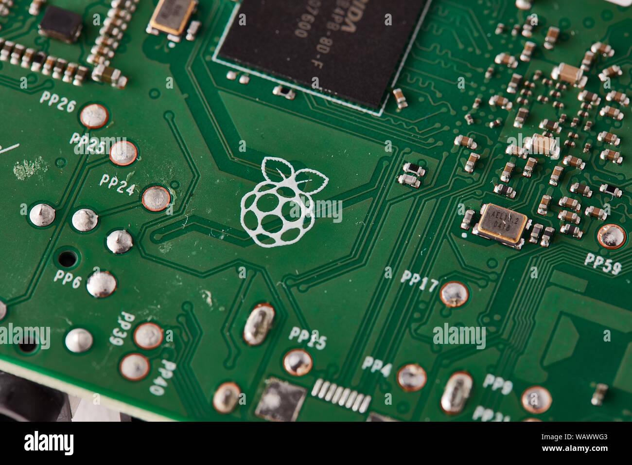 Raspberry Pi 3 B+ Stock Photo: 264870931 - Alamy