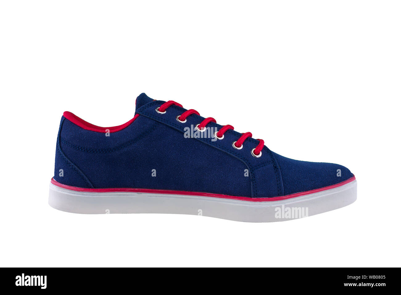 Sneakers. Sports shoes side view on a