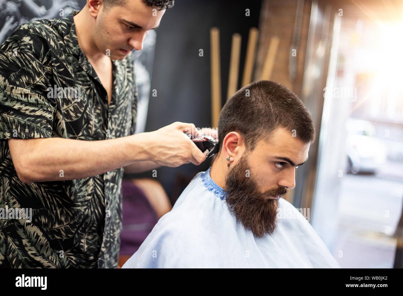 Getting A Haircut 35