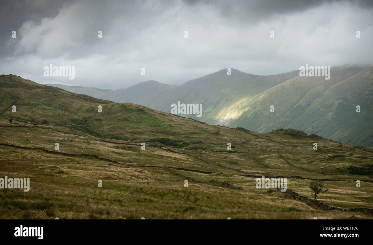 Troutbeck Ill Bell Lake District Stock Photo