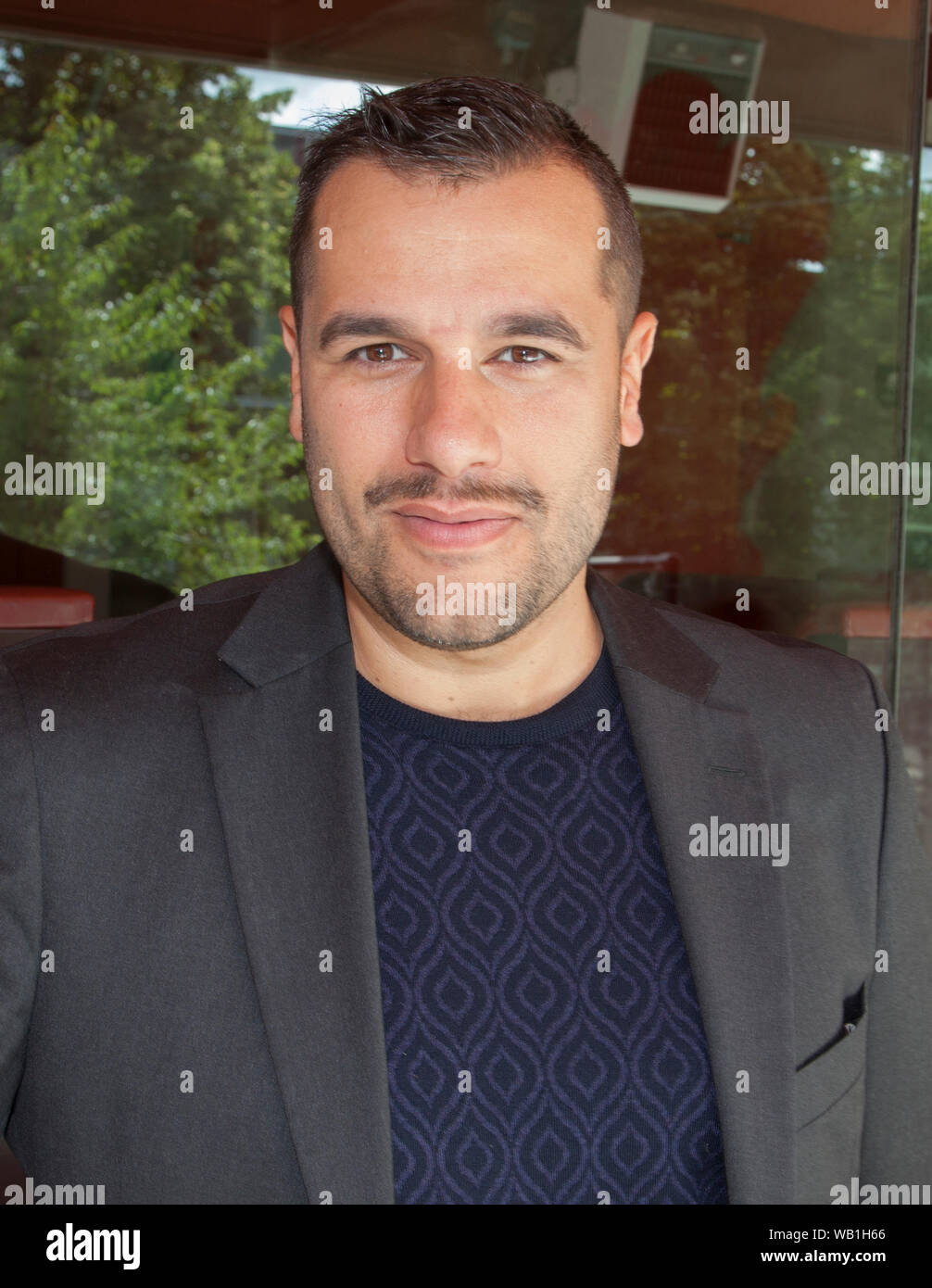 Edward Af Sillen Swedish Screenwriter And Director For Stage Film And Television He Has Worked On The Eurovision Song Contest As A Director Stock Photo Alamy