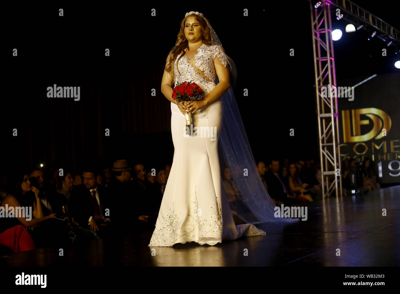 Valencia Carabobo Venezuela 22nd Aug 2019 August 23 2019 A Model Participates In The Fashion Show