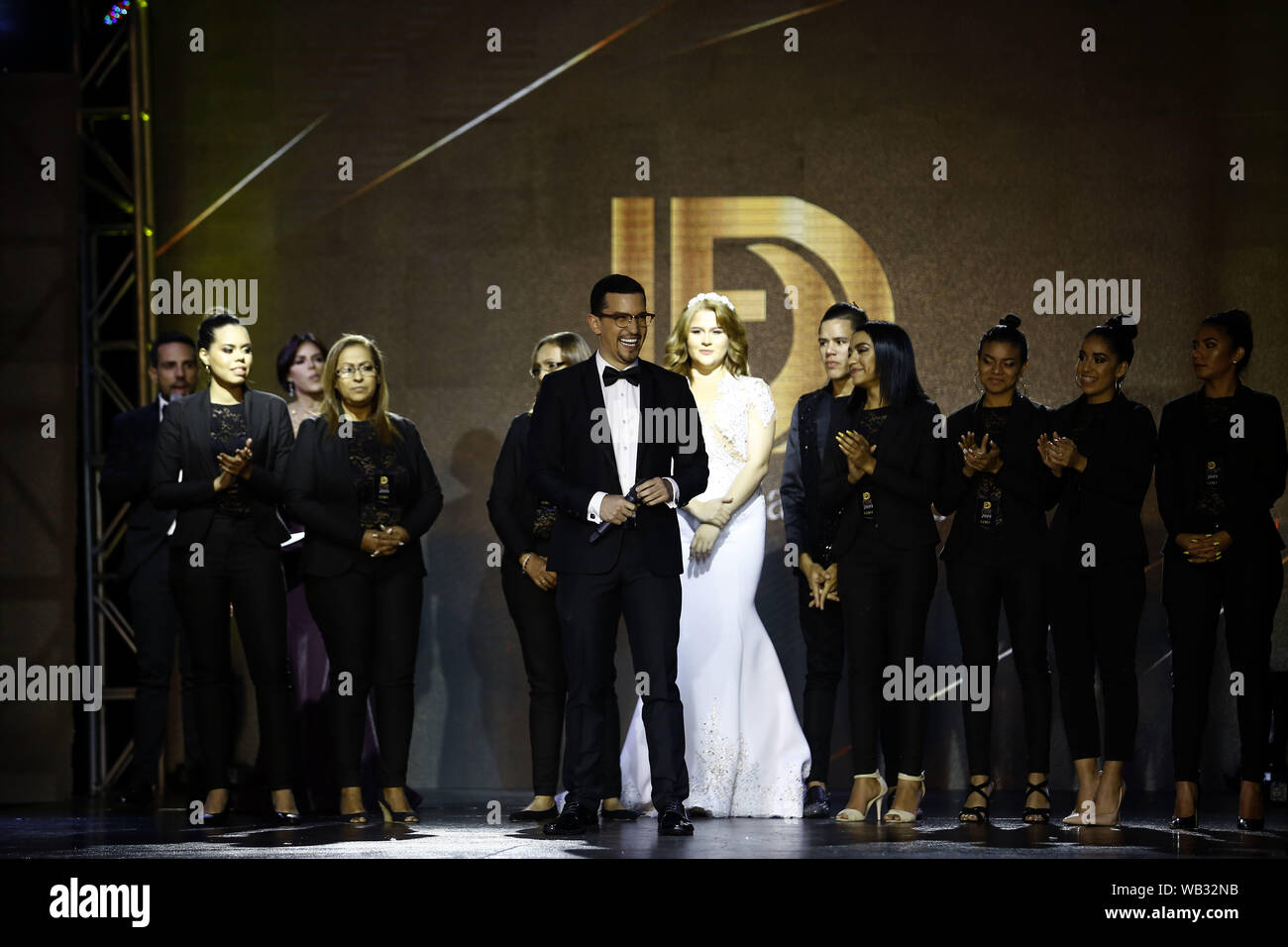 Valencia Carabobo Venezuela 22nd Aug 2019 August 23 2019 Fashion Designer Daniel Fabregas C With His
