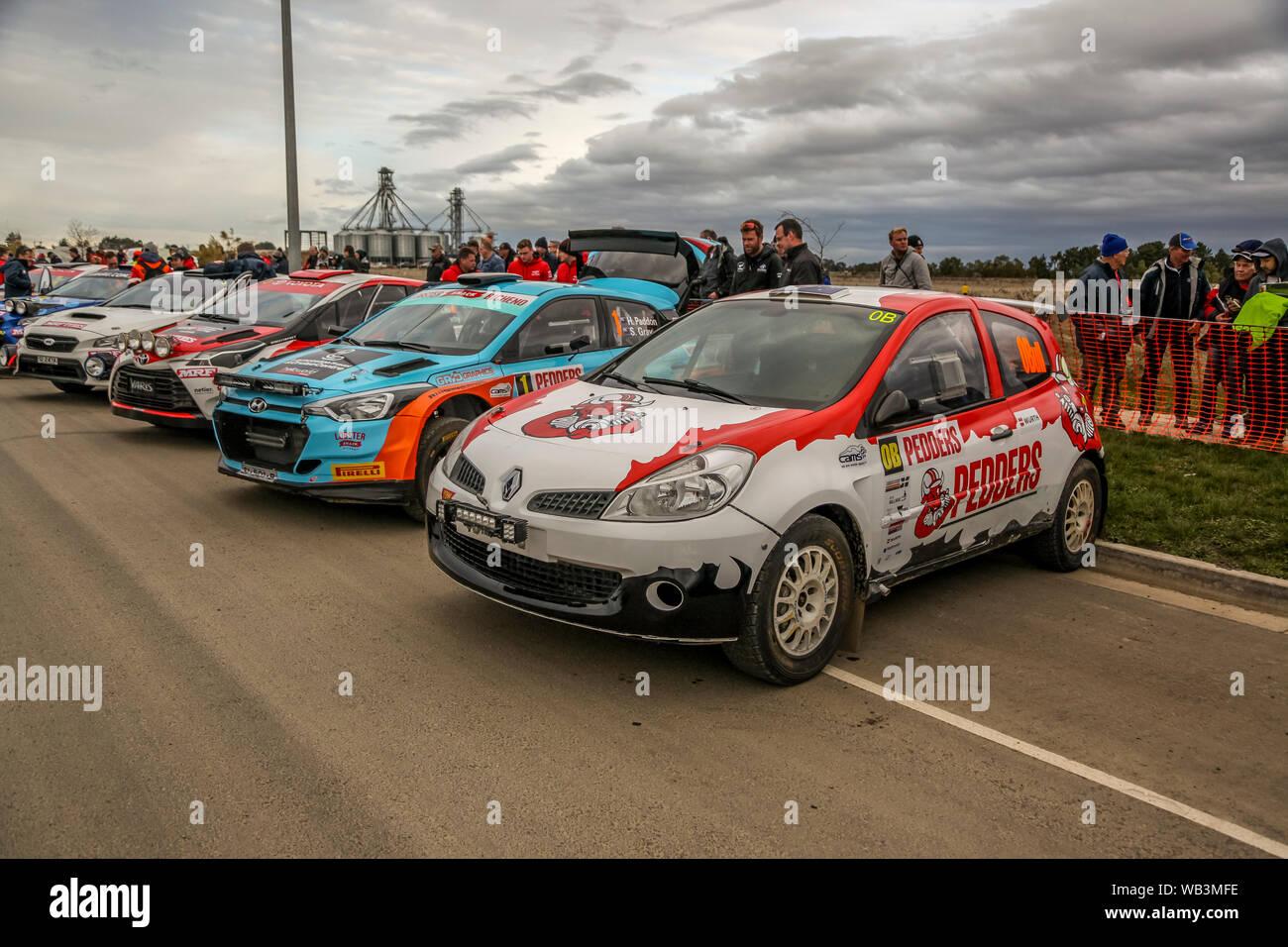 Rally Motor Credit >> Ballarat Victoria Australia 24 August 2019 Cams