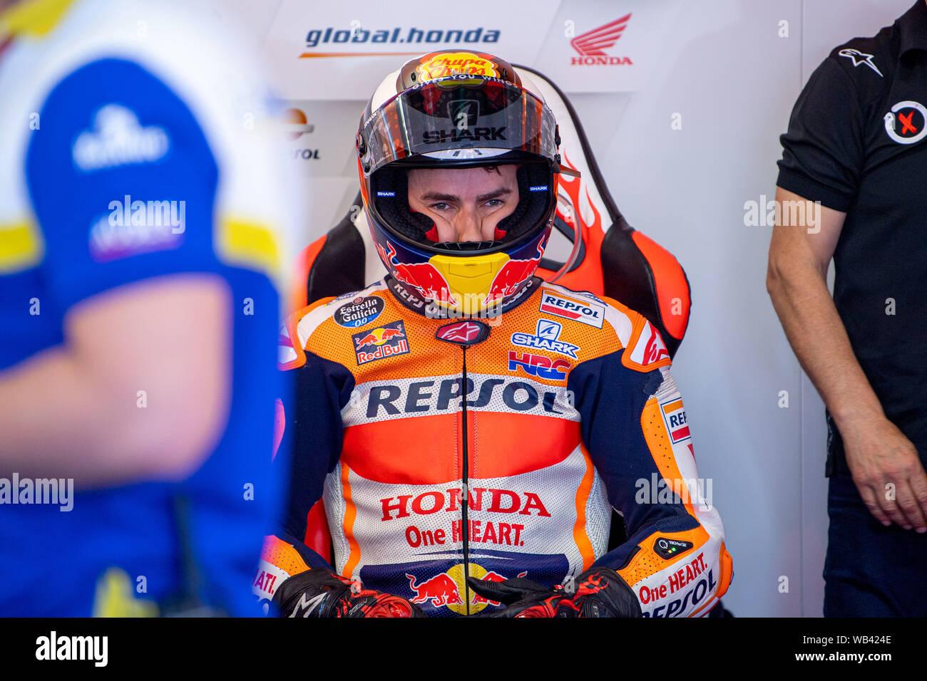 2019 Jorge Lorenzo #99 Official T-Shirt Blue//Red REPSOL RACING Team MotoGP