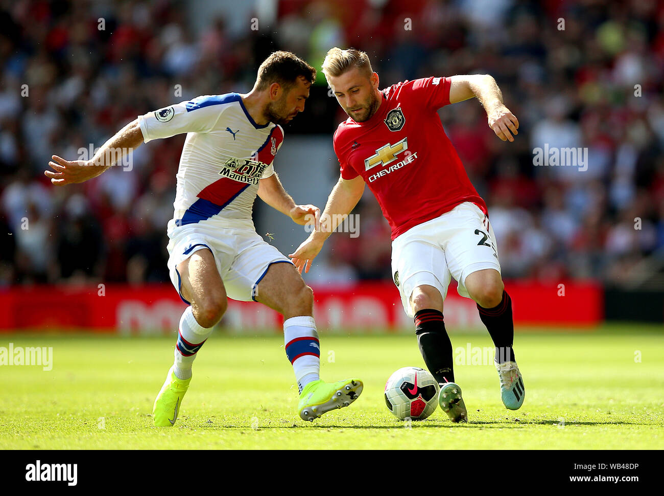 Manchester Uniteds Luke Shaw Right Stock S & Manchester