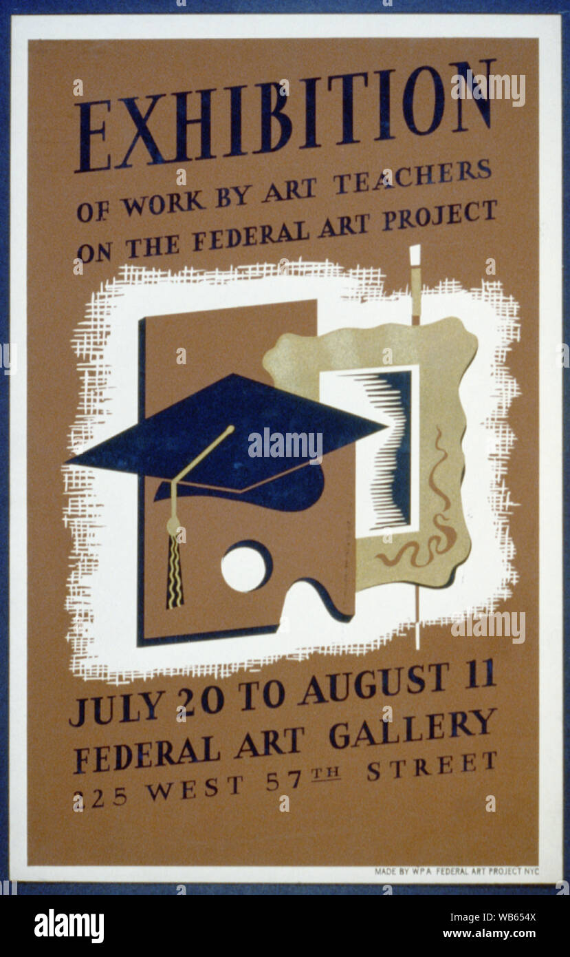 Exhibition Of Work By Art Teachers On The Federal Art