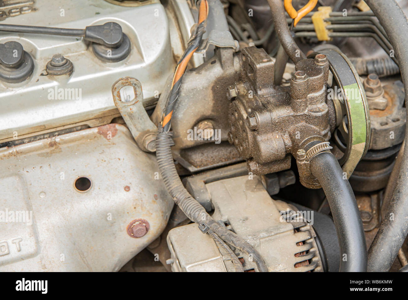 Power Steering Stock Photos & Power Steering Stock Images