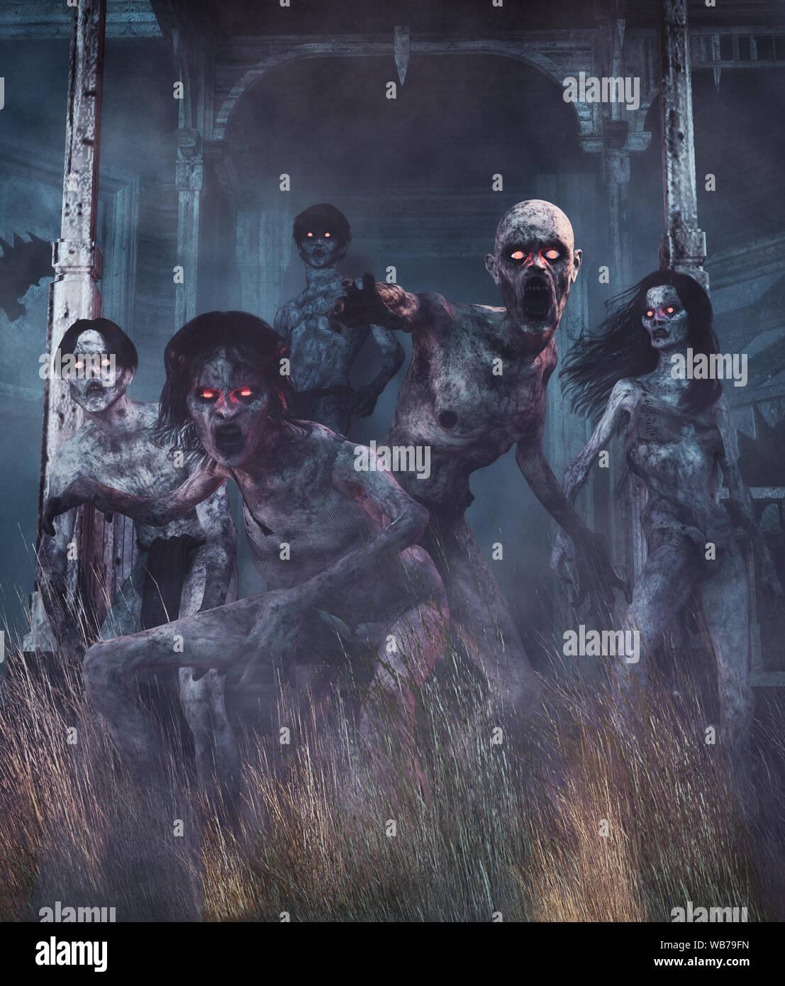 Fantasy Land Spooky Scary Stock Photos & Fantasy Land Spooky