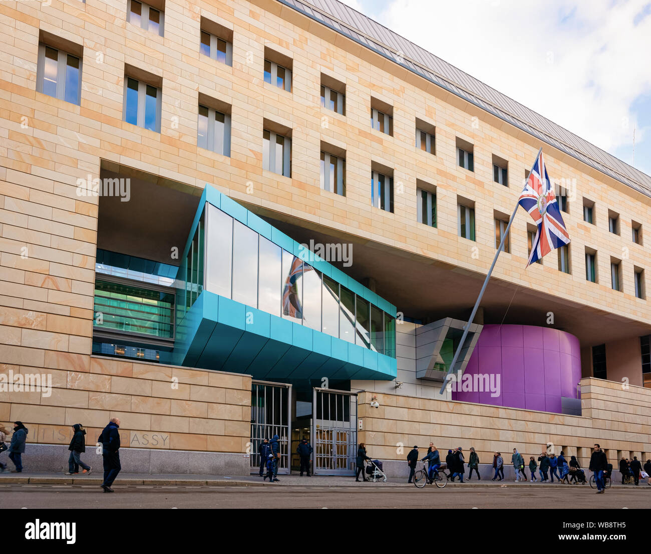 The British Embassy Building High Resolution Stock Photography And Images Alamy
