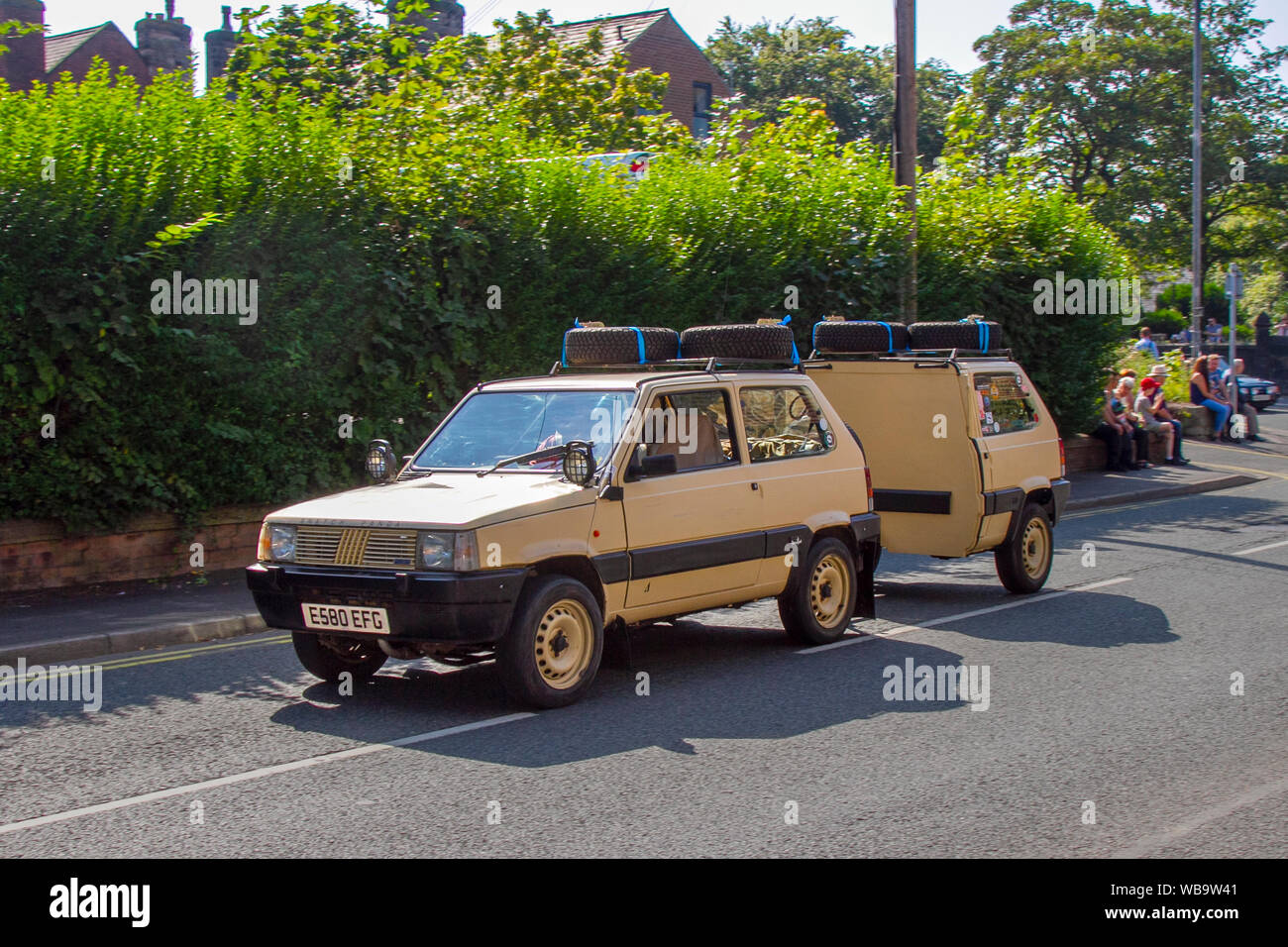 Fiat Panda Van High Resolution Stock Photography And Images Alamy
