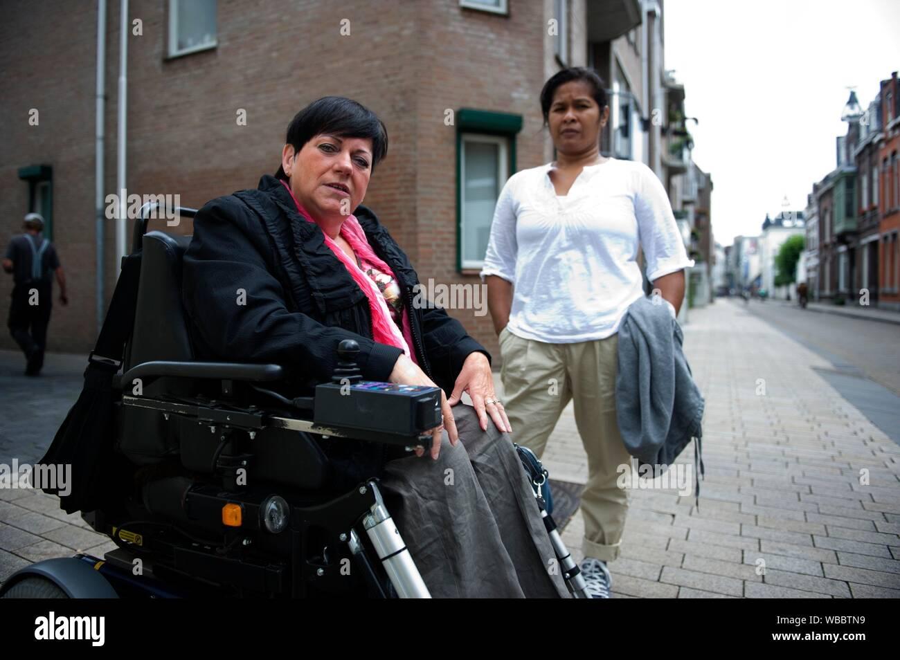 Woman in Tilburg