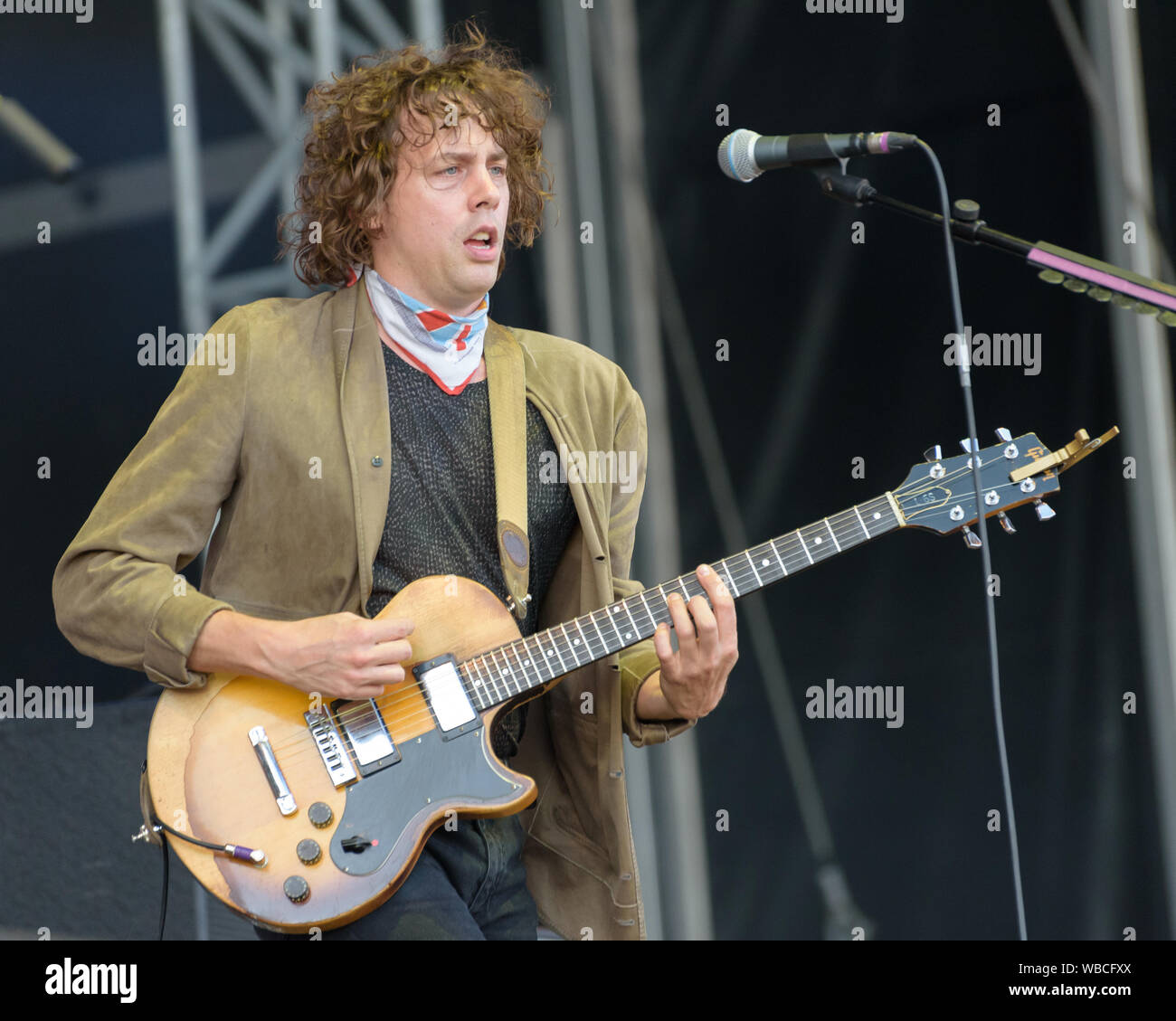 Razorlight - Victorious Festival 2019 Stock Photo